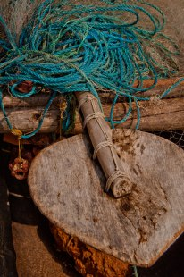 Rope and paddle