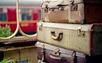 Rowsley. Lost luggage.Film, Pentax MX, 50mm.