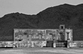 Remains of Las Salinas salt factory.